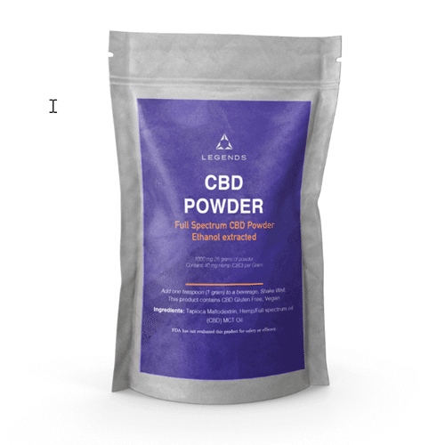 Picture of Legends Full Spectrum CBD Powder