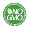 No GMO in our products badge