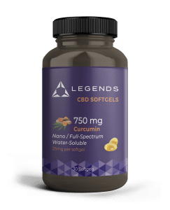 Picture to buy 750 mg CBD currcumin soft gels
